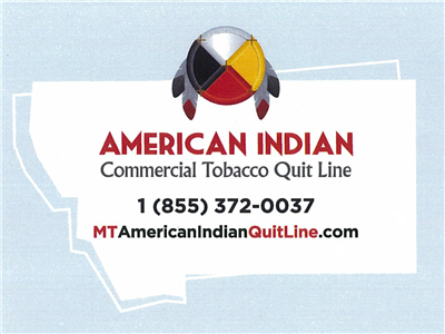 American Indian Quit Line Magnets