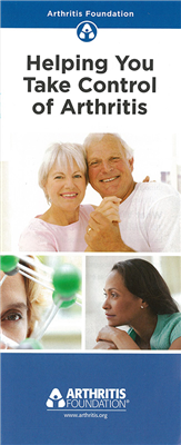 Helping You Take Control of Arthritis Brochure