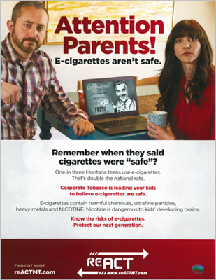 E-Cigarette Safety Poster